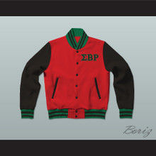Sigma Beta Rho Fraternity Varsity Letterman Jacket-Style Sweatshirt