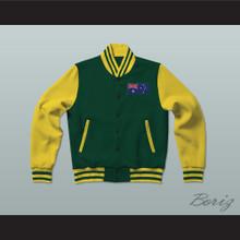 Australia Varsity Letterman Jacket-Style Sweatshirt