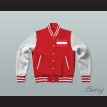 Austria Varsity Letterman Jacket-Style Sweatshirt