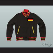 Deutschland/Germany Varsity Letterman Jacket-Style Sweatshirt