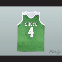 Slam Dunk Shoyo 4 Kenji Fujima Basketball Jersey Manga
