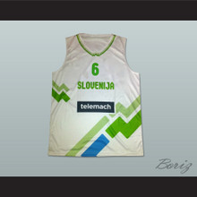 Slovenia Basketball Jersey Any Player or Number Stitch Sewn