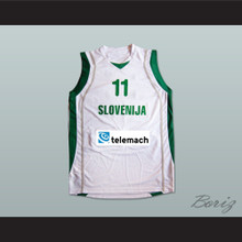 Slovenija Goran Dragic 11 Basketball Jersey Any Player or Number Stitch Sewn