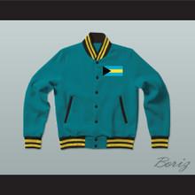 The Bahamas Varsity Letterman Jacket-Style Sweatshirt