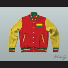 Bolivia Varsity Letterman Jacket-Style Sweatshirt