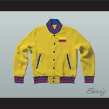 Colombia Varsity Letterman Jacket-Style Sweatshirt