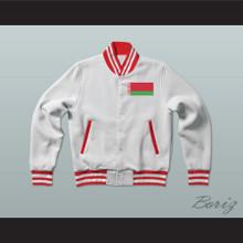 Belarus Varsity Letterman Jacket-Style Sweatshirt