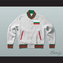 Bulgaria Varsity Letterman Jacket-Style Sweatshirt