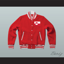 Greenland Varsity Letterman Jacket-Style Sweatshirt