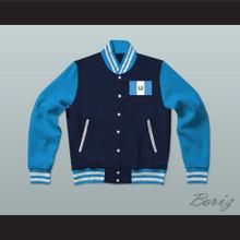 Guatemala Varsity Letterman Jacket-Style Sweatshirt