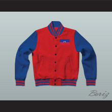 Haiti Varsity Letterman Jacket-Style Sweatshirt