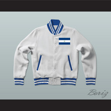 Nicaragua Varsity Letterman Jacket-Style Sweatshirt
