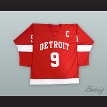Cameron Frye Gordie Howe 9 Detroit Alternate Hockey Jersey