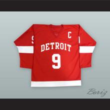 Cameron Frye Gordie Howe 9 Detroit Alternate Hockey Jersey