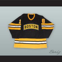 Happy Gilmore 18 Boston Alternate Style Black Hockey Jersey