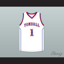 Jimmy Butler 1 Tomball High School Cougars White Basketball Jersey