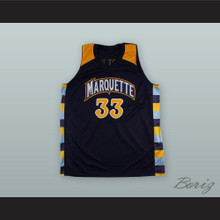 Jimmy Butler 33 Marquette Black Basketball Jersey
