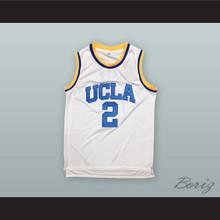 Lonzo Ball 2 UCLA White Basketball Jersey