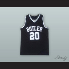 Gordon Hayward 20 Butler Black Basketball Jersey