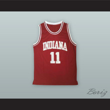 Isiah Thomas 11 Indiana Crimson Basketball Jersey
