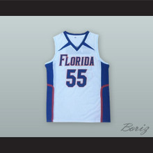 Jason Williams 55 Florida White Basketball Jersey