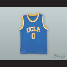 Russell Westbrook 0 UCLA Light Blue Basketball Jersey