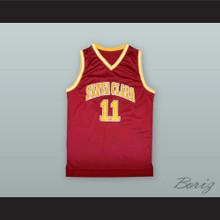 Steve Nash 11 Santa Clara Maroon Basketball Jersey