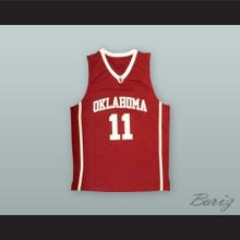 Trae Young 11 Oklahoma Crimson Basketball Jersey