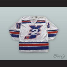 Chris Jericho Y2J White Hockey Jersey