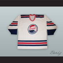 c6762a07568 Syracuse Buffalo Bisons Style White Hockey Jersey