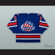 Jody Gage 9 Rochester Americans Blue Hockey Jersey