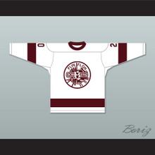 Flin Flon Bombers White Hockey Jersey