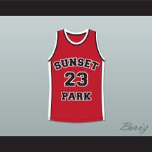 De'aundre Bonds Busy-Bee 23 Sunset Park Basketball Jersey Stitch Sewn