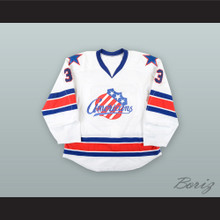 Joel Armia 33 Rochester Americans White Hockey Jersey