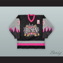 Ray Schultz 3 Calgary Hitmen Black Hockey Jersey