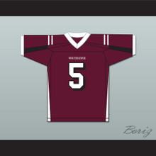 Patrick Mahomes 5 Whitehouse High School Wildcats Maroon Football Jersey