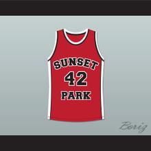 Player 42 Sunset Park Basketball Jersey Stitch Sewn