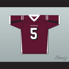 Patrick Mahomes 5 Whitehouse High School Maroon Football Jersey