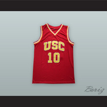 DeMar DeRozan 10 USC Red Basketball Jersey