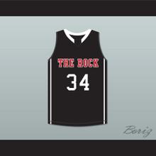 Joel Embiid 34 The Rock High School Black Basketball Jersey