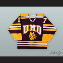 Bryan McGregor 17 University of Minnesota-Duluth Bulldogs Hockey Jersey