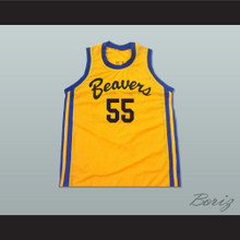 Mark Holton Chubby 55 Beacon Beavers Basketball Jersey