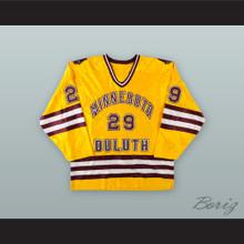 Josh Miskovich 29 University of Minnesota-Duluth Bulldogs Hockey Jersey