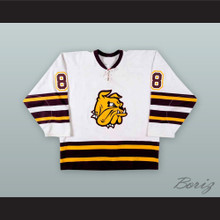 Justin Williams 8 University of Minnesota-Duluth Bulldogs Hockey Jersey