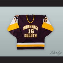 Rich Anderson 16 University of Minnesota-Duluth Bulldogs Hockey Jersey