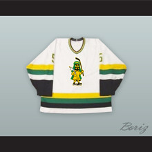 David Van Drunen 5 Prince Albert Raiders White Hockey Jersey