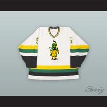 David Van Drunen 5 Prince Albert Raiders White Hockey Jersey