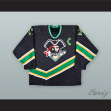 Scott Hartnell 12 Prince Albert Raiders Black Hockey Jersey