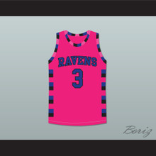 Lucas Scott One Tree Hill Ravens Pink Basketball Jersey Any Number or Player