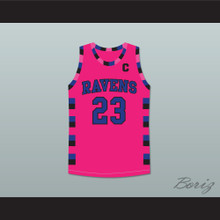 Nathan Scott 23 One Tree Hill Ravens Pink Basketball Jersey Any Player